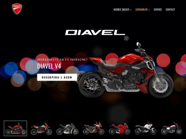 Screenshot of ducaticluj.ro