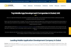 Screenshot of dxminds.com