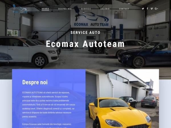 Screenshot of ecomaxautoteam.ro