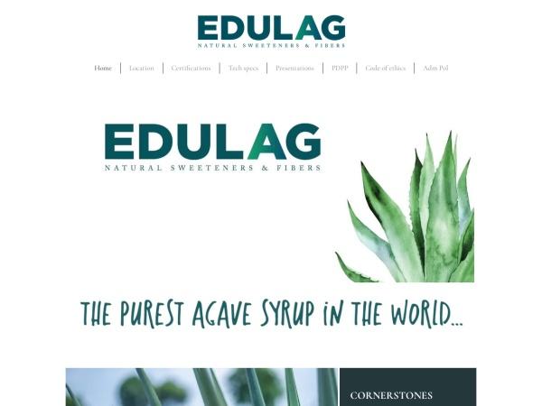 Captura de pantalla de edulag.com