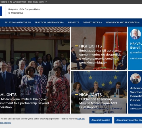 Screenshot of eeas.europa.eu
