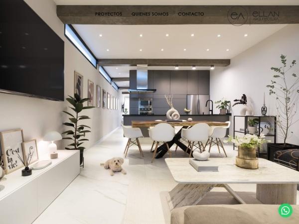 Captura de pantalla de ellanarquitectura.com
