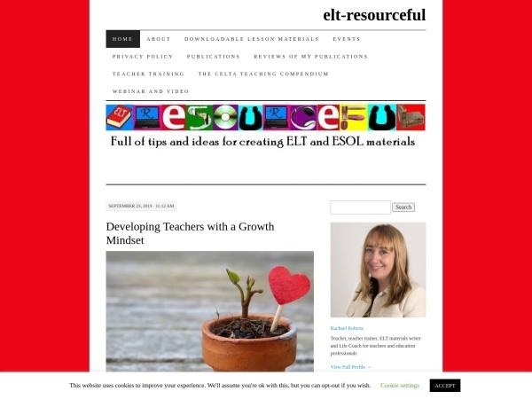 Screenshot of elt-resourceful.com