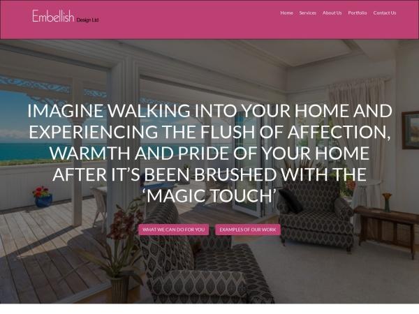Screenshot of embellish.co.nz