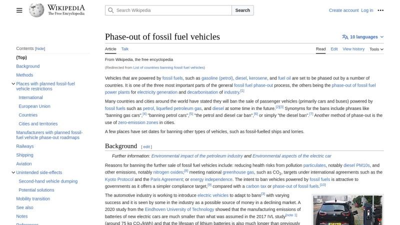 Screenshot of en.wikipedia.org