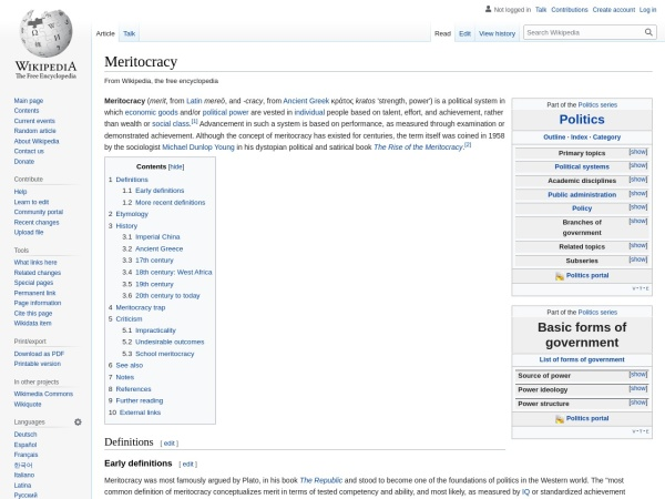 Screenshot of en.wikipedia.org