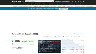 Ratios financieros de Devonian Health Group (GSD)
