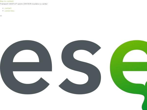 Screenshot of esensis.ro
