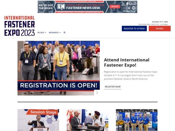 Screenshot of fastenershows.com