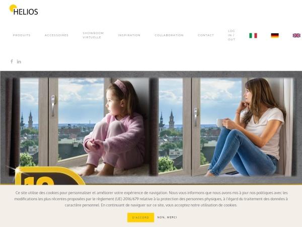 Screenshot of fenetrehelios.fr