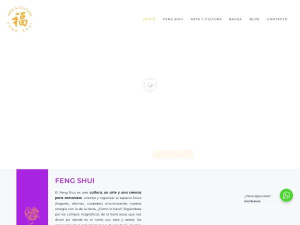 Captura de pantalla de fengshui.net.co