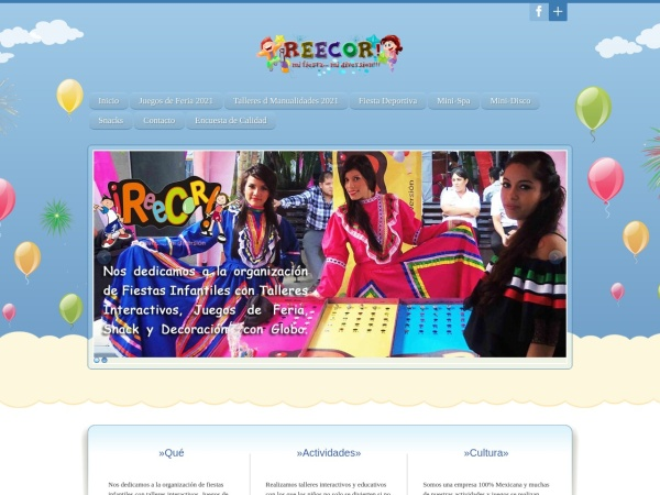 Captura de pantalla de fiestasinfantilesgdl.com.mx
