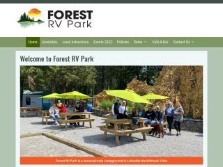 Forest RV Park Website