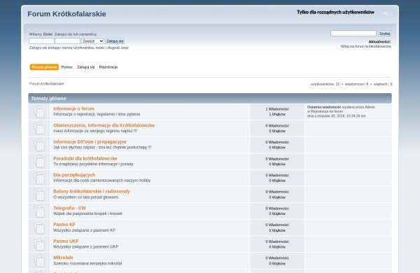 Screenshot of forum.pzk.pl