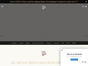 RL Moda, le spécialiste du commerce de perruques et extensions de cheveux haut de gamme