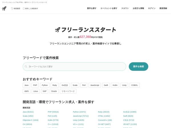 Screenshot of freelance-start.com