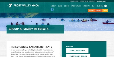 Screenshot of frostvalley.org