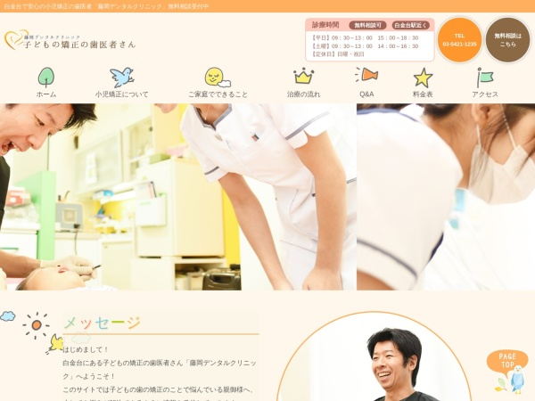 Screenshot of fujioka-kyousei.com