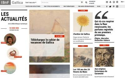 Screenshot of gallica.bnf.fr