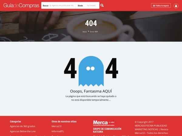 Captura de pantalla de gdc.merca20.com