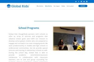 Screenshot of globalkids.org