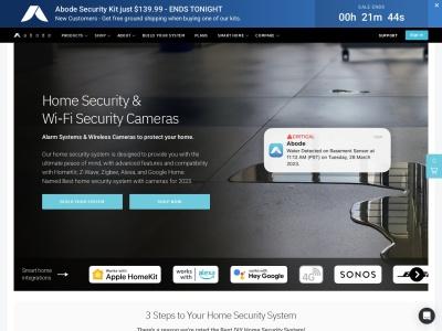 Screenshot of goabode.com