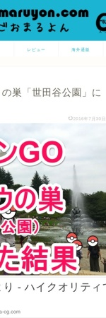 Screenshot of gomaruyon.com
