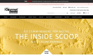 Gourmet Warehouseウェブサイトサムネイル