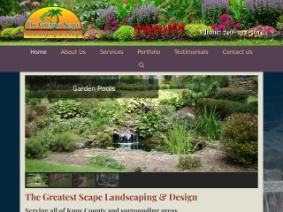 Greatest Scape Landscaping and Design Website