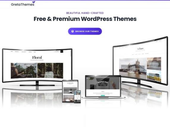 GretaThemes homepage
