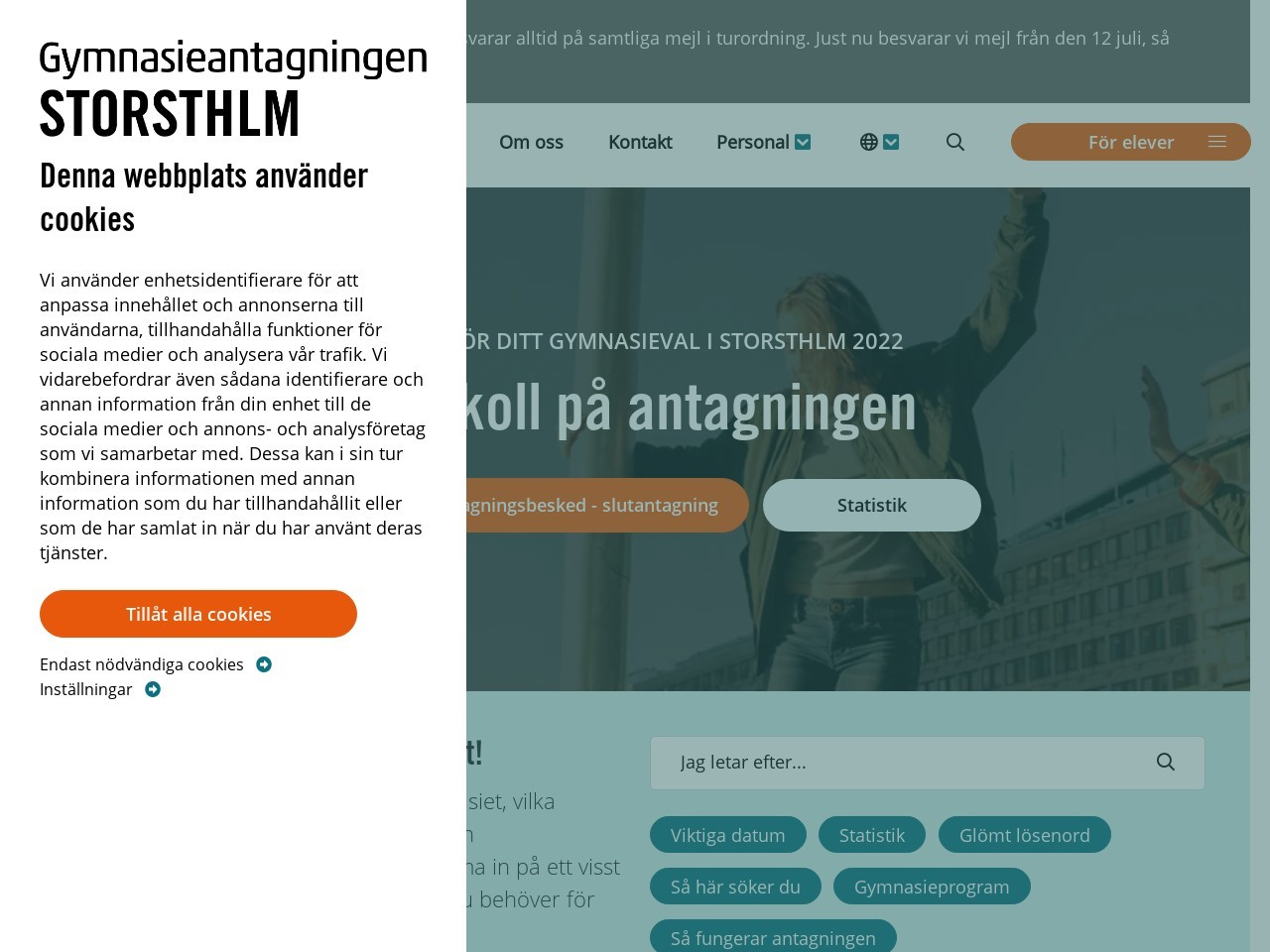 Yrkesgymnasiet. Stockholm - Storsthlm