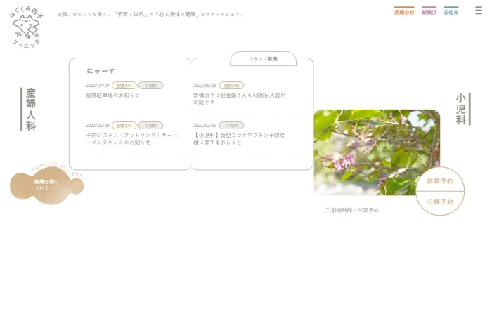 Screenshot of hagukumi-cl.com