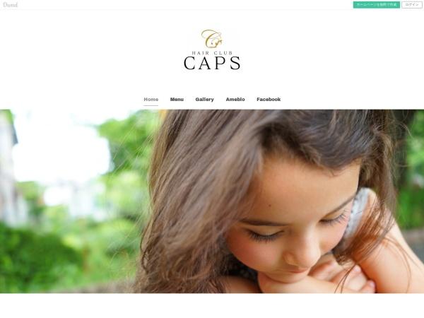 Screenshot of hairclub-caps.amebaownd.com