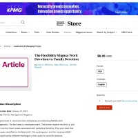 Screenshot of hbr.org