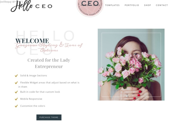 Screenshot of helloceo.helloyoudesigns.com