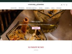 Conservatoire des Hémisphères : une boutique en ligne de thés de bonne qualité à Paris