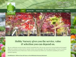 Hobby Nursery Website