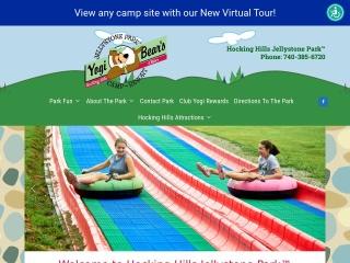 Hocking Hills Jellystone Park™ Webite