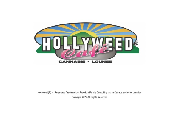 Screenshot of hollyweednorth.com