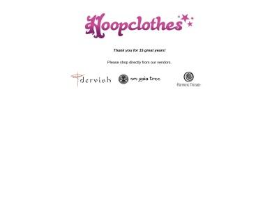 Screenshot of hoopclothes.com