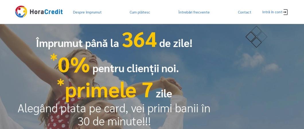 Screenshot of horacredit.ro