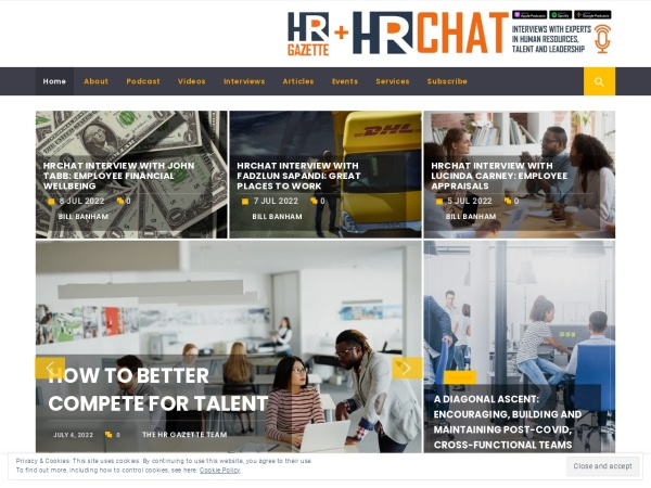 HR Gazette Screenshot