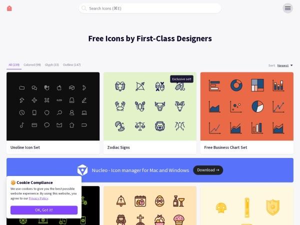 Screenshot of iconstore.co