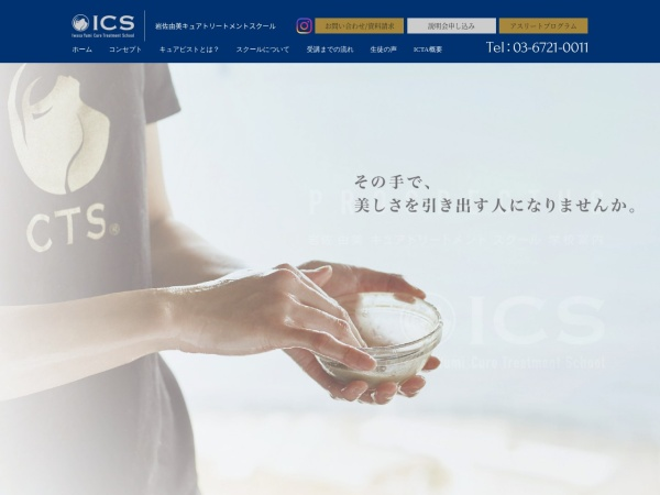 Screenshot of ics-icta.com