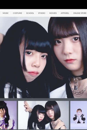 Screenshot of idol-campus.com