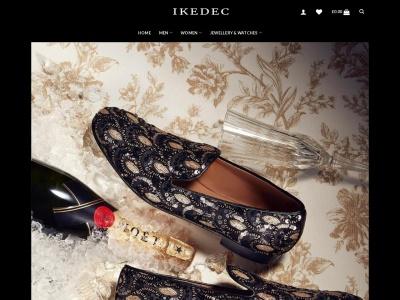 Screenshot of ikedec.com