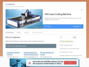 Screenshot of ilindesnes.no