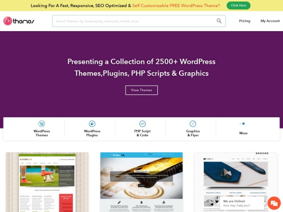 Homepage di InkThemes