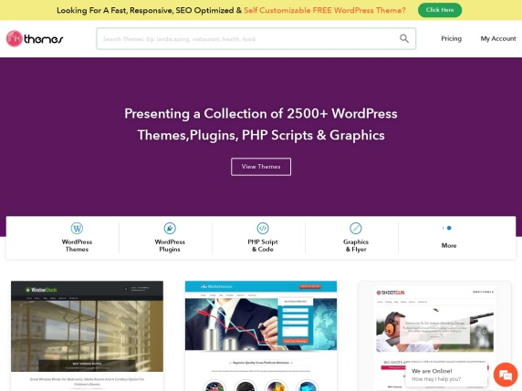 InkThemes homepage