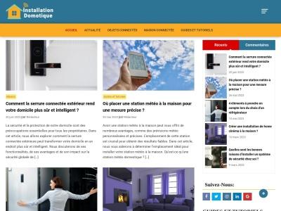 Installation Domotique – Le blog des actualités de la domotique et des objets connectés